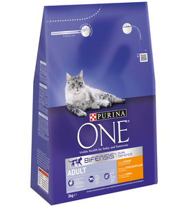 Purina One Adult Cat Chicken & Whole Grains 3kg
