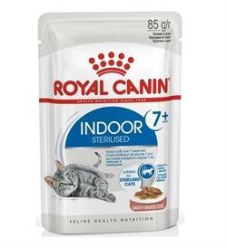 Royal Canin Indoor Sterilised 7+ In Gravy 85g