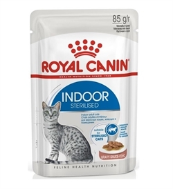 Royal Canin Indoor Sterilised In Gravy 85g