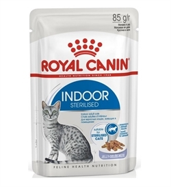 Royal Canin Indoor Sterilised In Jelly 85g