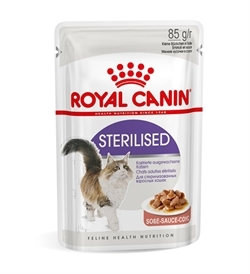 Royal Canin Sterilised In Gravy 85gx12
