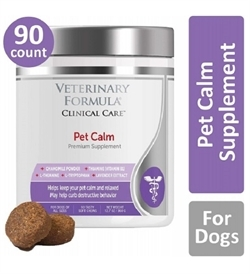 Synergy Lab Veterinary Formula Clinical Care Pet Calm Premium Supplement 90tabs