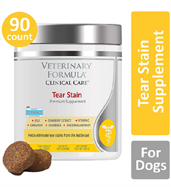 Synergy Lab Veterinary Formula Clinical Care Tear Stain Premium Supplement 90tabs