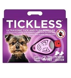 Tickless Pet Ultrasonic Tick & Flea Repeller For Pets Pink 1pc