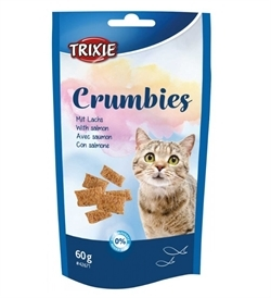 Trixie Crumbies With Salmon And Taurine 60g