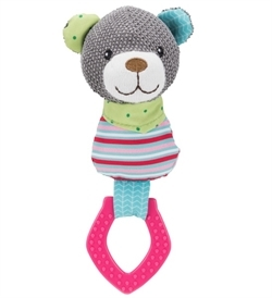 Trixie Junior Bear Ring Fabric/Polyester 23cm
