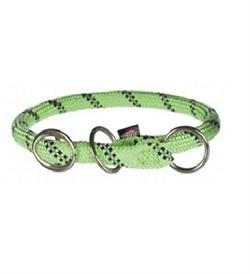 Trixie Light Green Sporty Rope Collar Medium 1pc