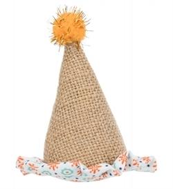 Trixie Little Hat Jute/Fabric 9Cm 9cm