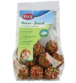 Trixie Natur-Snack Ball With Carrot & Pea 140G 140g