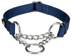 Trixie Premium Stop-The-Pull Collar Indigo 1pc