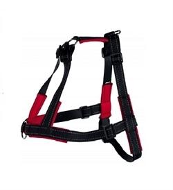 Trixie Lead N Walk Soft Training Harness Black L/XL 1pc