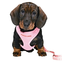 Trixie Puppy Harness Set Pink Small 1pc