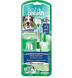 Tropiclean Advanced Whitening Oral Care Kit For Small Dogs 59ml