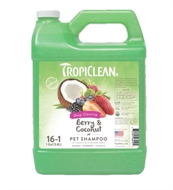 Tropiclean Berry & Coconut Shampoo Deep Cleaning 3.8L