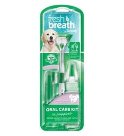 Tropiclean Fresh Breath Puppy Oral Care Kit 59ml