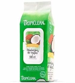 Tropiclean Hypo Allergenic Wipes 100s