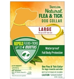 Tropiclean Natural Flea And Tick Dog Collar Large 1pc