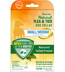 Tropiclean Natural Flea And Tick Dog Collar Small/Medium 1pc