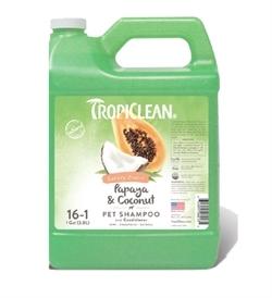 Tropiclean Papaya & Coconut Shampoo Luxury 2 In 1 3.8L