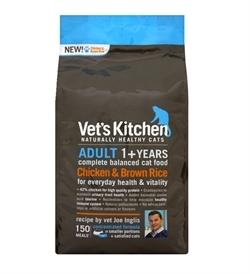 Vet's Kitchen Adult Cat Chicken & Brown Rice 3kg