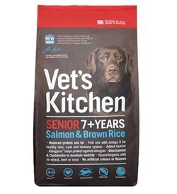 Vet's Kitchen Senior Dog Salmon & Brown Rice 3kg