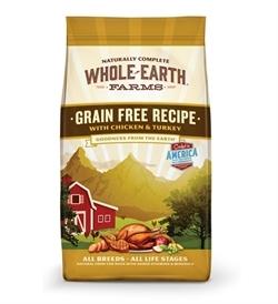 Whole Earth Farms Grain Free Chicken & Turkey 11.36kg