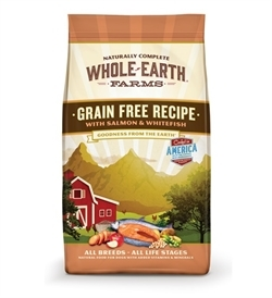 Whole Earth Farms Grain Free Salmon & Whitefish 11.36kg
