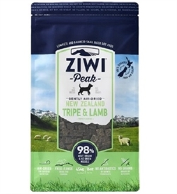 Ziwipeak Air Dried Tripe & Lamb For Dogs 2.5kg