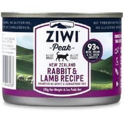 Ziwipeak Moist Rabbit & Lamb For Cats 185g