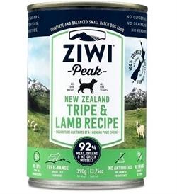 Ziwipeak Moist Tripe & Lamb For Dogs 390g