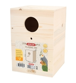 Zolux Bird Nesting Box Classic 350 1pc