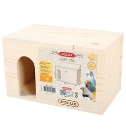 Zolux Bird Nesting Box Loft 150 1pc