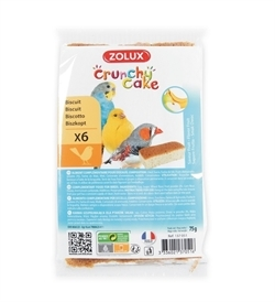 Zolux Crunchy Cake Apple & Banana Biscuits 6pcs