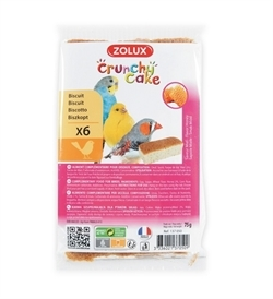 Zolux Crunchy Cake Honey Biscuits 6pcs