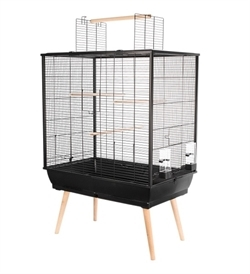 Zolux Neo Jili Bird Cage Black 1pc