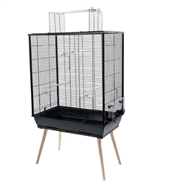 Zolux Neo Jili Bird Cage Xl Black 1pc