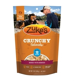Zukes Crunchy Naturals Baked With Berries 340g