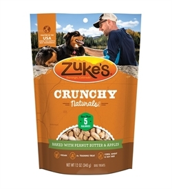 Zukes Crunchy Naturals Baked With Peanut Butter & Apples 340g