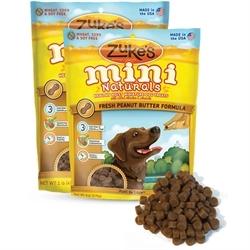 Zukes Mini Naturals Peanut Butter & Oats Recipe 170g