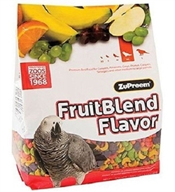 Zupreem Fruitblend Medium And Large Parrots 12lb