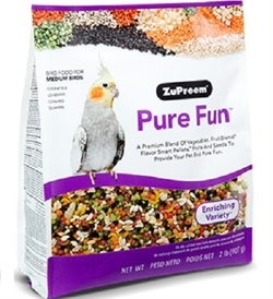 Zupreem Pure Fun Medium Birds 2lb