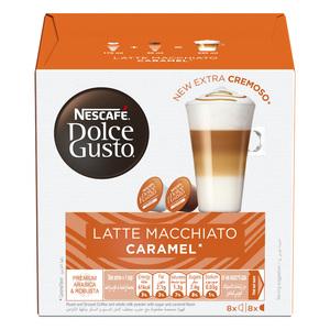 Nescafe Dolce Gusto Caramel Latte Macchiato Coffee 188.4g