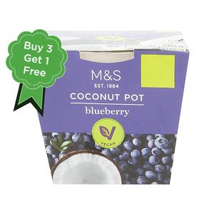Blueberry Coconut Pot 4x120g