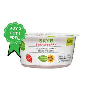 Skyr Strawberry 4x150g