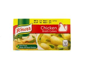 Knorr Cube Chicken Broth 60g