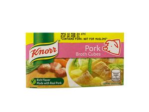 Knorr Cubes Pork Broth 60g
