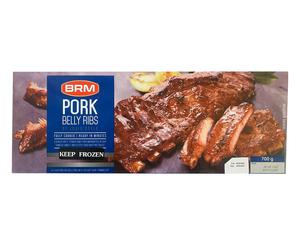 BRM Pork Belly Ribs FC 700g