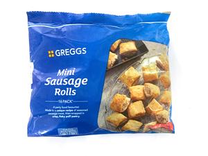 Greggs Sausage Rolls Mini 433g