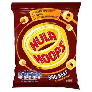 Hula Hoops Barbeque Crisps Rings 34g