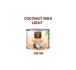 Resona Organic Coconut Milk Light 200ml